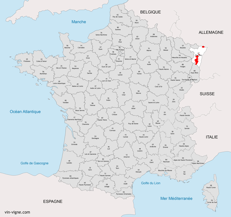region du bas rhin - Image
