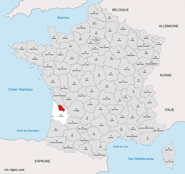 REGION DE BLAYE BOURG : Vins de Blaye bourg   Vin Vigne.com