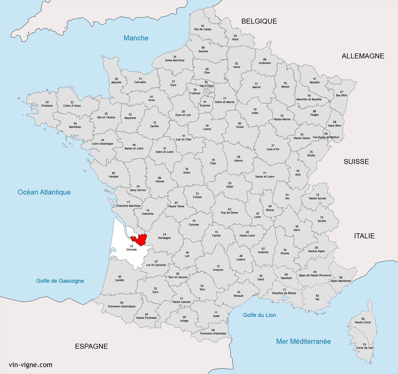 REGION DE LIBOURNE : Vins de Libourne - Vin-Vigne.com