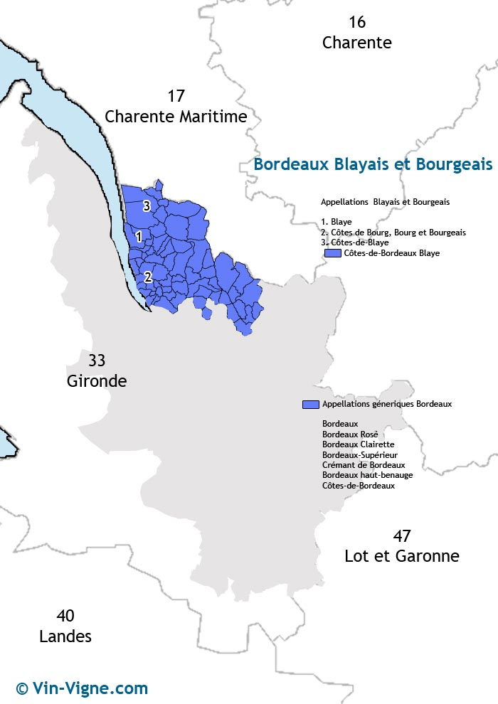 carte des vins de blaye-bourg