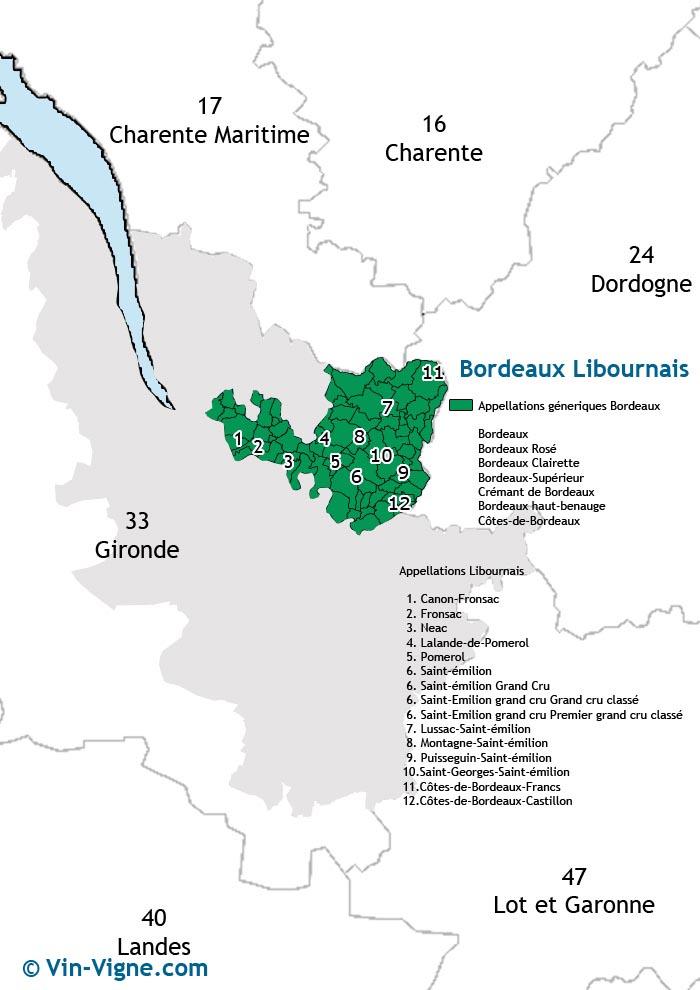 carte des vins de libourne
