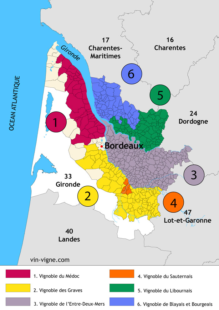 region vin bordeaux