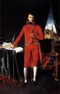 Bonaparte par Ingres