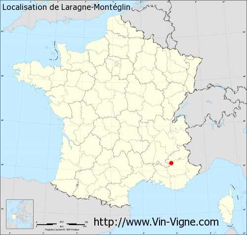 Carte de Laragne-Montéglin