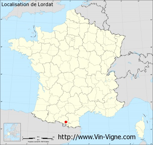 Carte de Lordat