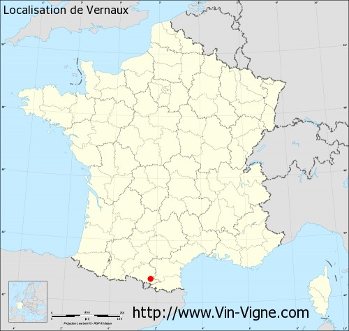 Carte de Vernaux