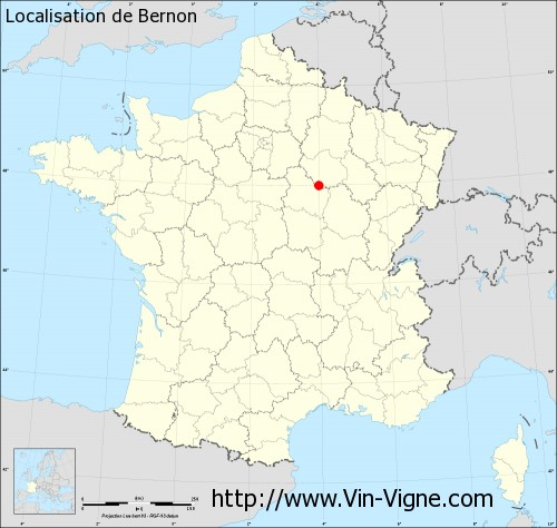 Carte de Bernon