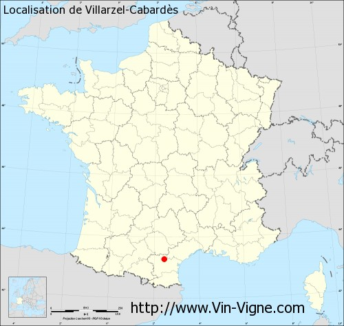 Carte de Villarzel-Cabardès
