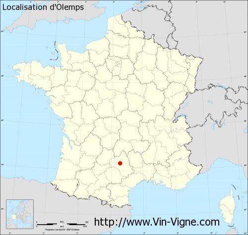 Carte d'Olemps