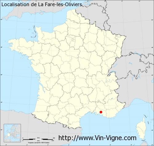 Ville de la fare les oliviers 13580 informations for Piscine la fare les oliviers