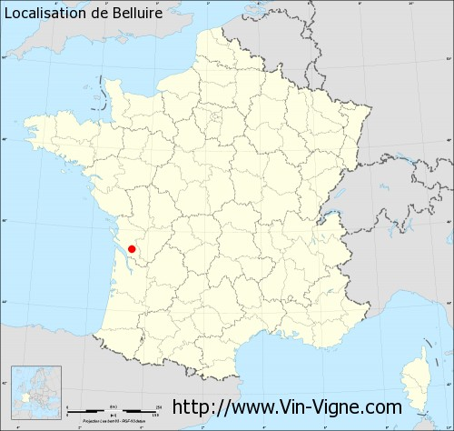 Carte de Belluire
