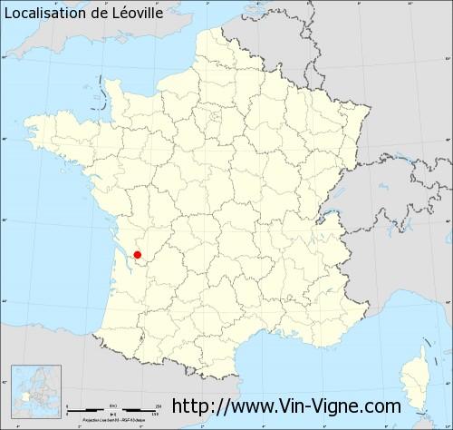 Carte de Léoville