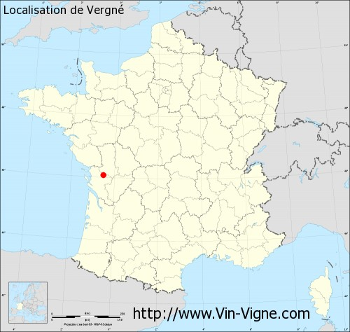 Carte de Vergné