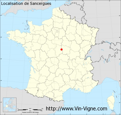 Carte de Sancergues