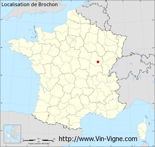 Carte de Brochon