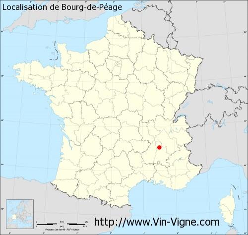 Ville de bourg de p age 26300 informations viticoles for Piscine diabolo a bourg de peage