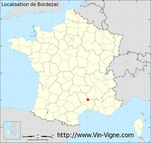 Carte  de Bordezac