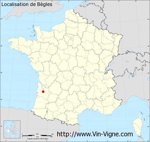 Carte de Bègles