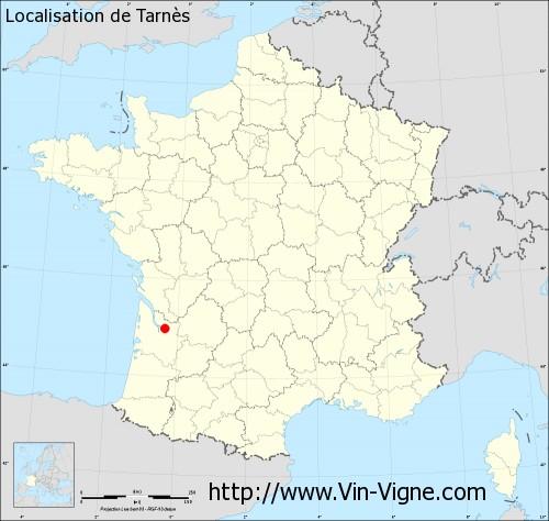 Carte de Tarnès