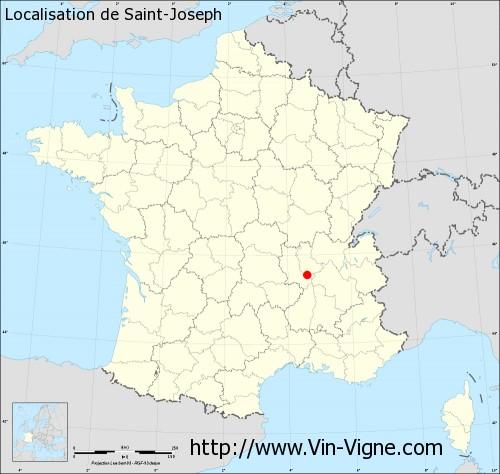 Carte de Saint-Joseph