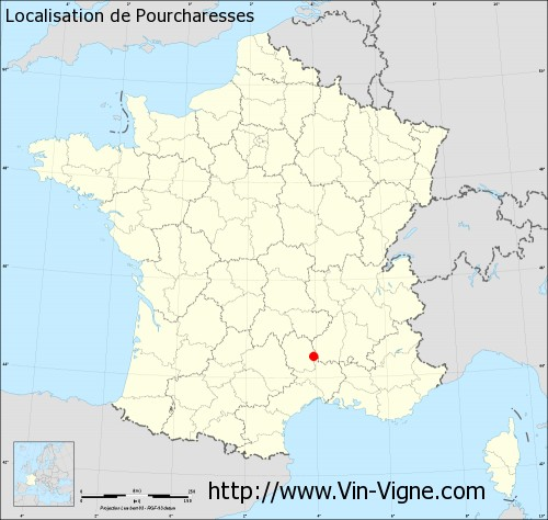 Carte de Pourcharesses