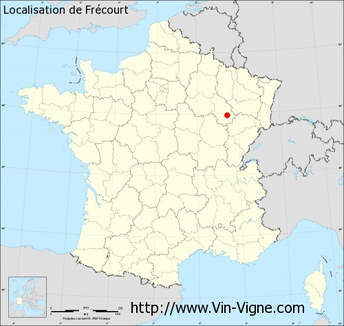 Carte de Frécourt