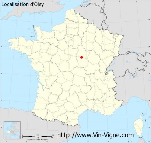 Carte d'Oisy