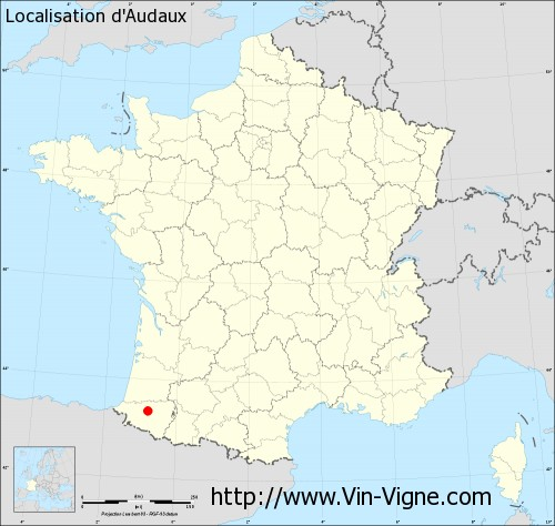 Carte d'Audaux