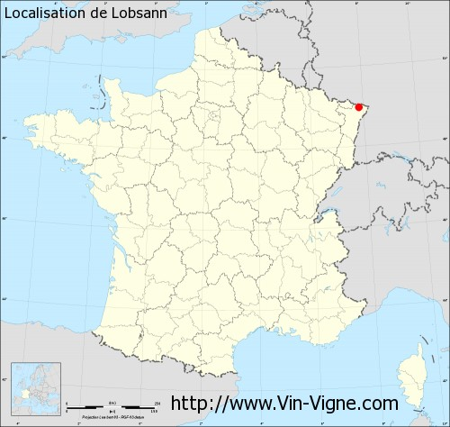 Carte de Lobsann
