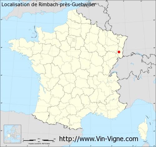 Carte de Rimbach-près-Guebwiller