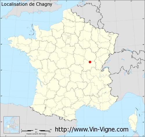 Carte de Chagny