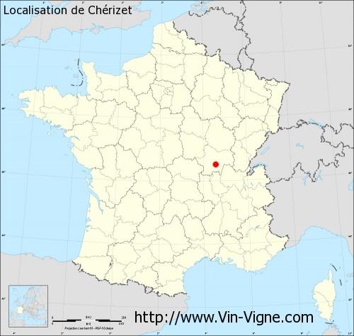 Carte de Chérizet