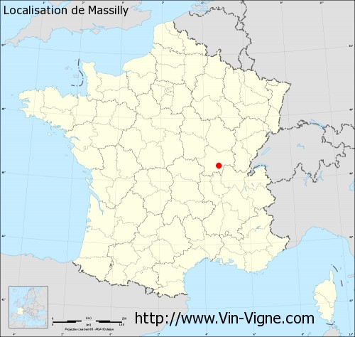 Carte de Massilly