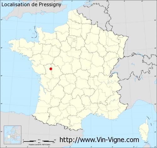 Carte de Pressigny