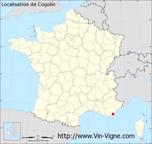 Carte de Cogolin