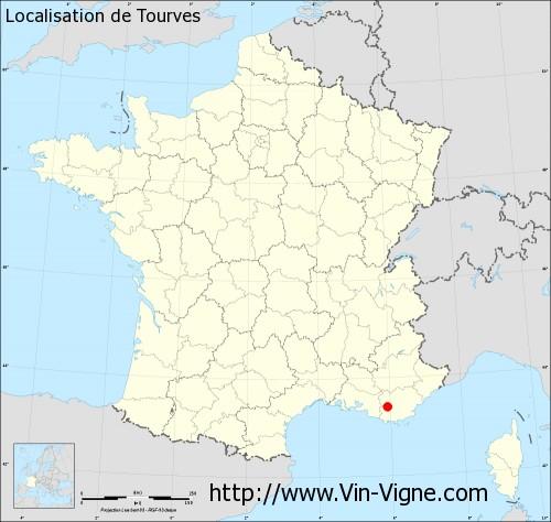 Carte de Tourves