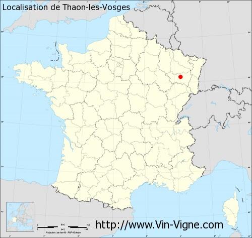 Ville de thaon les vosges 88150 informations viticoles - Piscine thaon les vosges ...