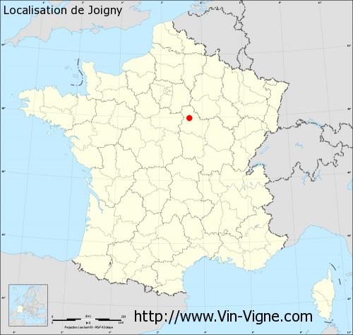 Carte de Joigny