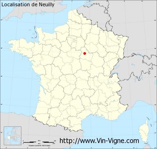 Carte de Neuilly