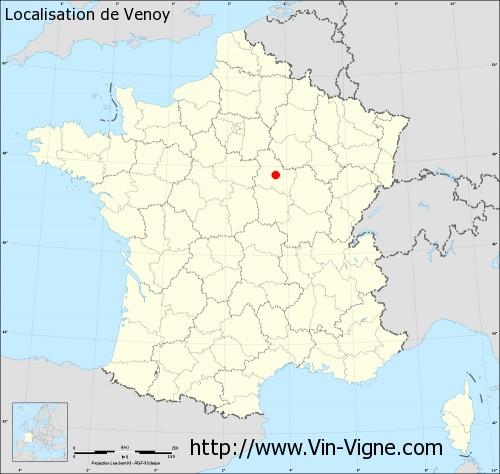 Carte de Venoy