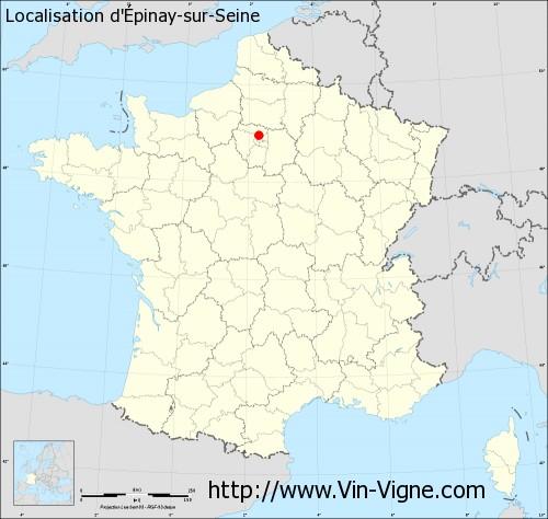 Ville d 39 pinay sur seine 93800 informations viticoles for Piscine epinay sur seine
