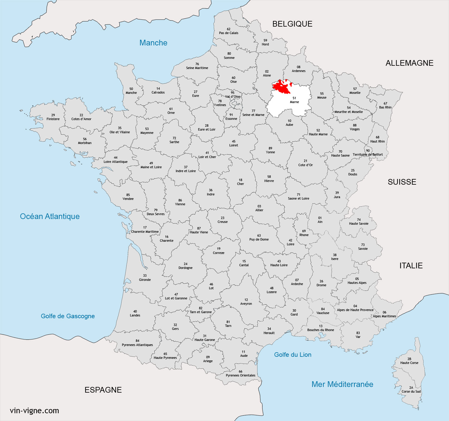 champagne ardenne carte