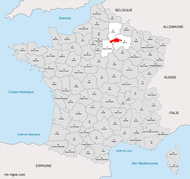 Region de la vallee de la marne vins de la vall e de la for Piscine vitry le francois