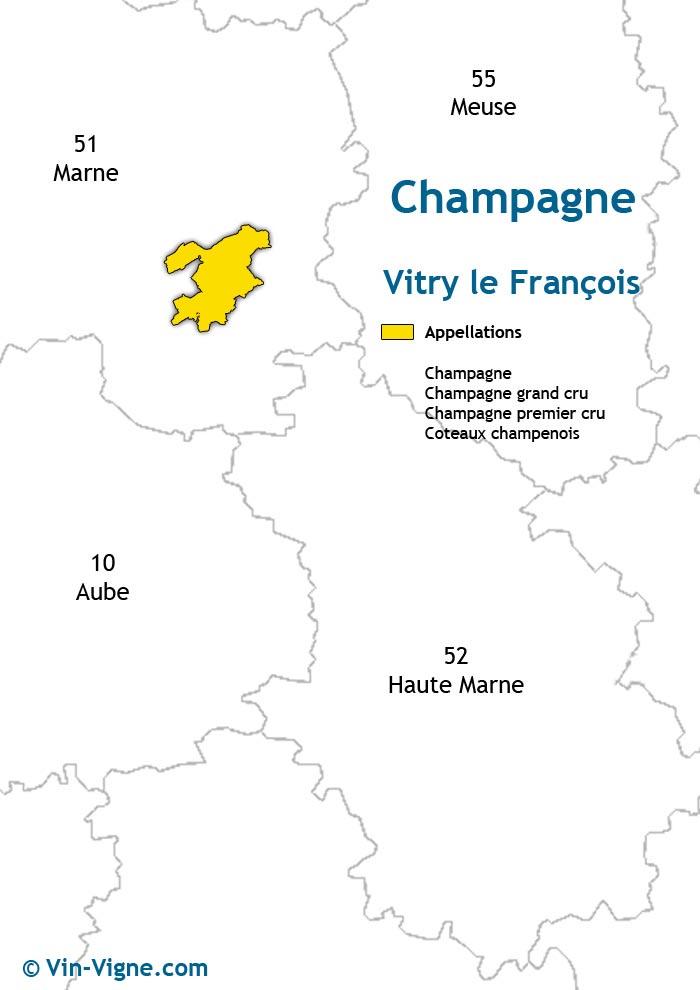 carte des vins de vitry-le-françois