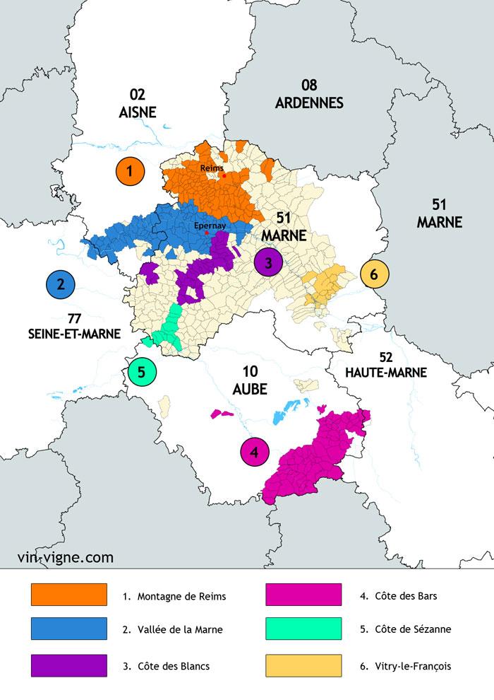 region vin champagne