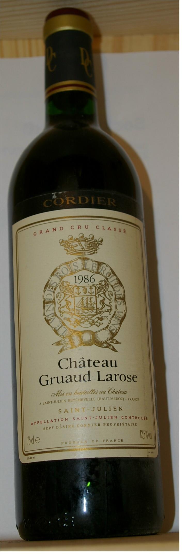 Chateau gruaud larose 2018