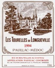 Etiquette Tourelles de Longueville 1994