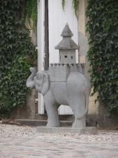 Détail architectural du Château Cos d'Estournel
