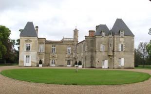 Cour intérieur du Château d'Issan