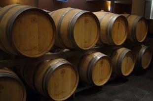 Barriques vin blanc du château de Rochemorin